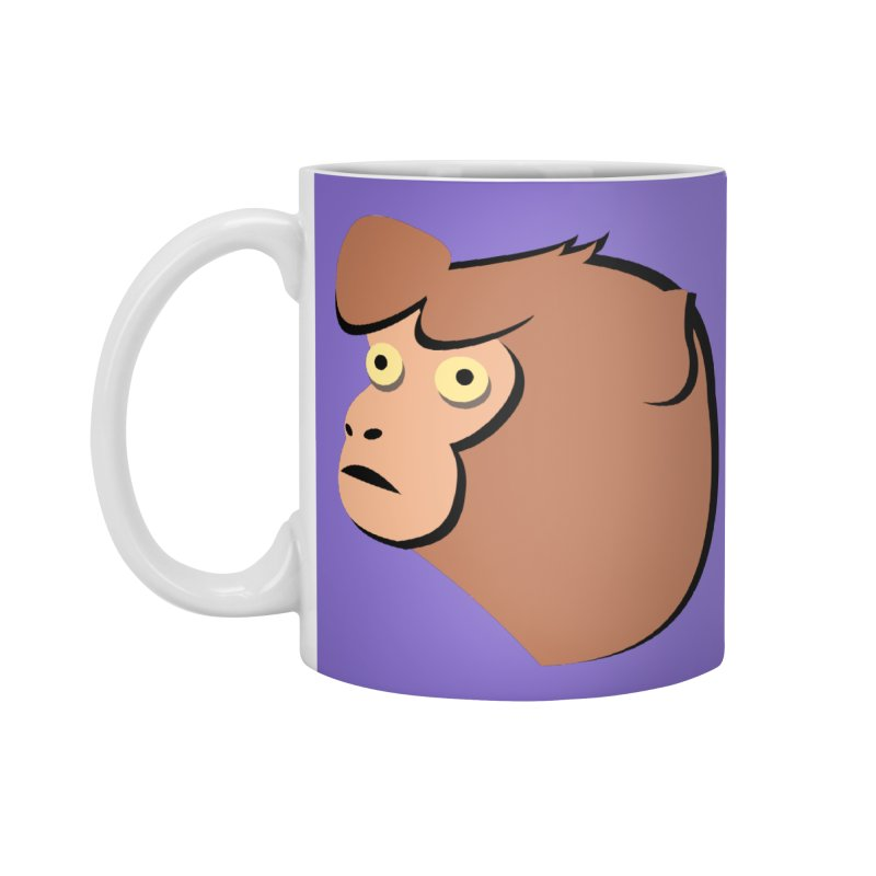 The Monkey Accessories Mug by Ginger's Shop
