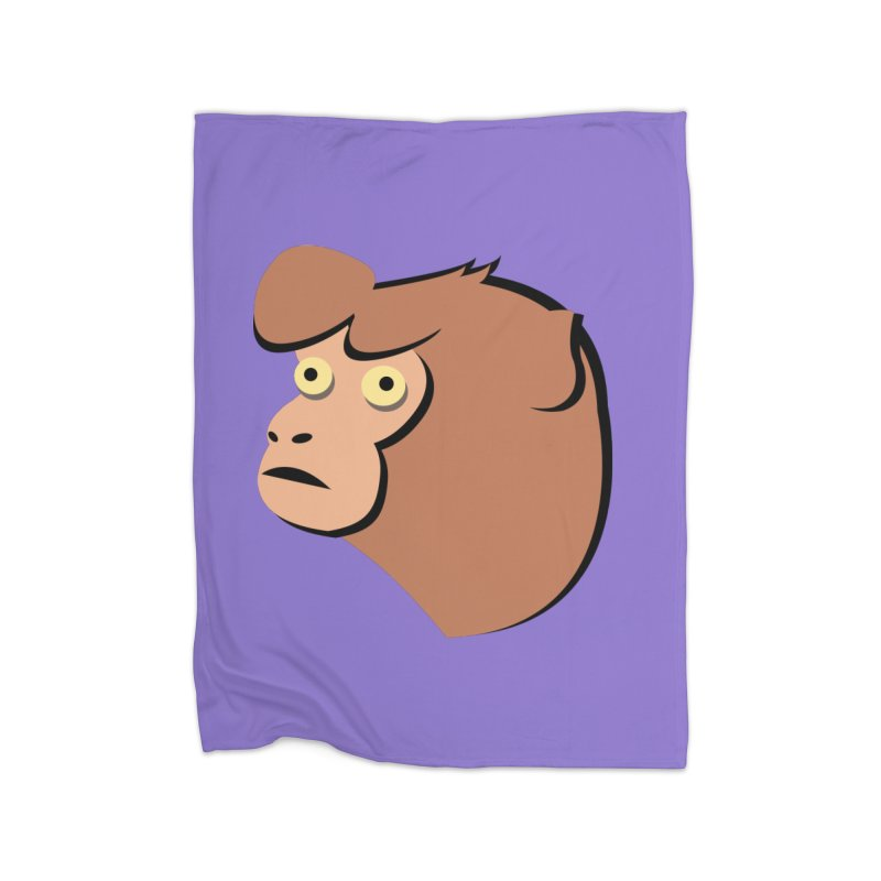 The Monkey Home Blanket by Ginger's Shop