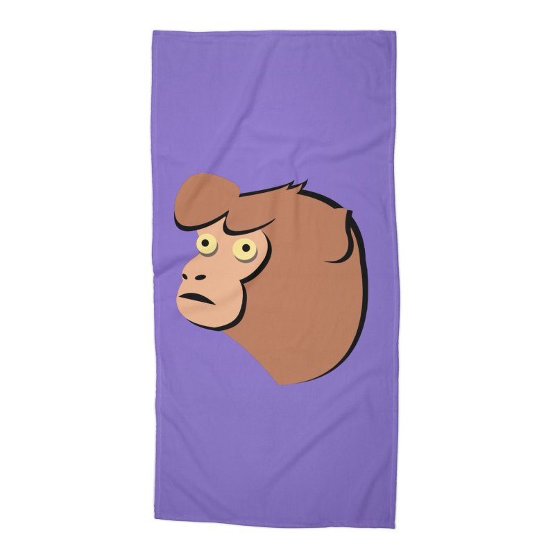The Monkey Accessories Beach Towel by Ginger's Shop