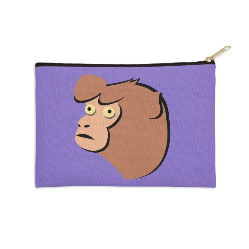 The Monkey Accessories Zip Pouch by Ginger's Shop