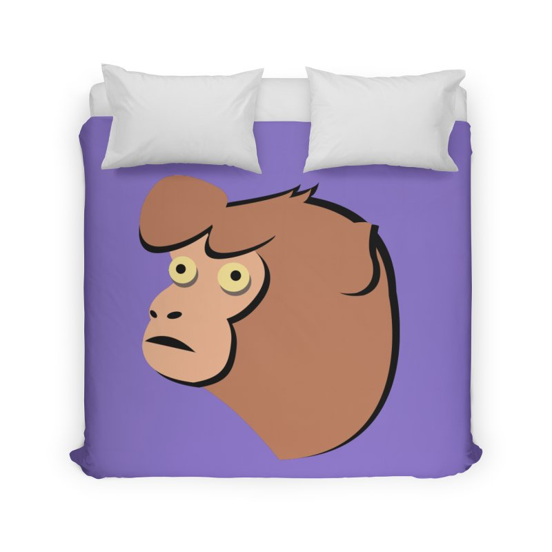 The Monkey Home Duvet by Ginger's Shop