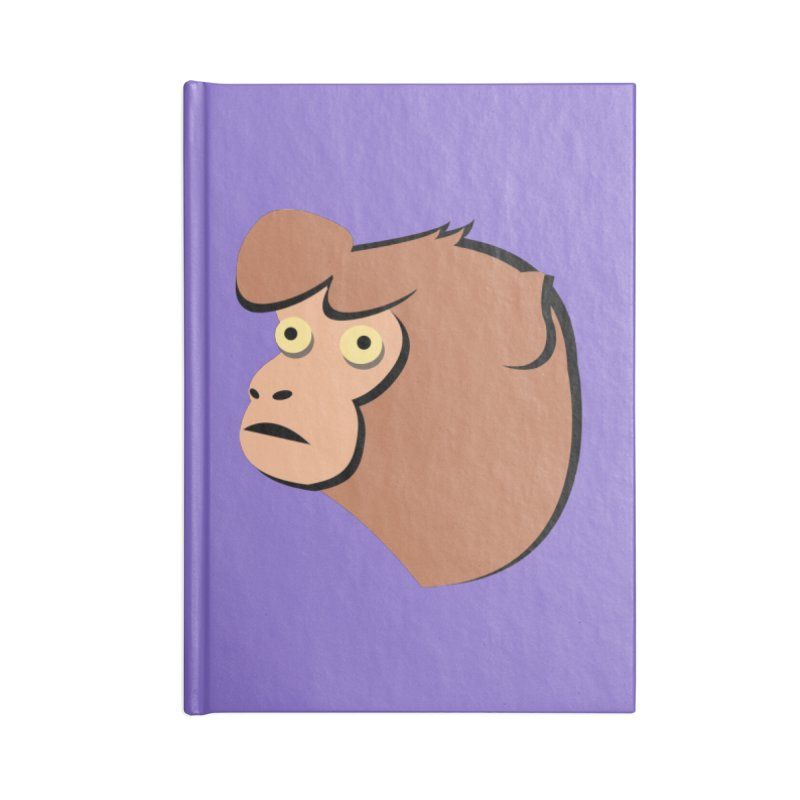 The Monkey Accessories Notebook by Ginger's Shop
