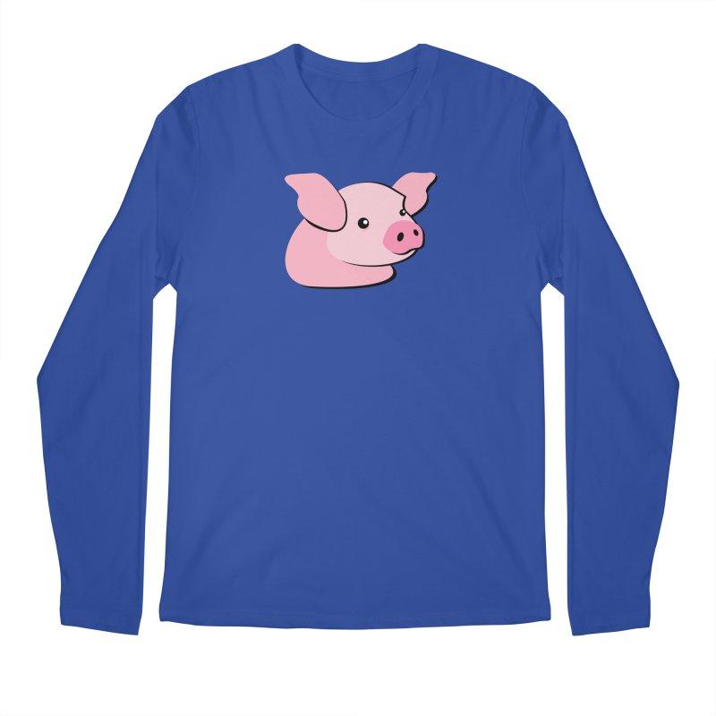 The Pig Men's Longsleeve T-Shirt by Ginger's Shop