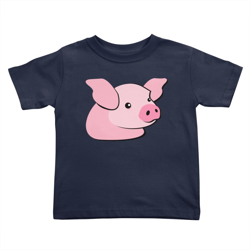 The Pig Kids Toddler T-Shirt by Ginger's Shop
