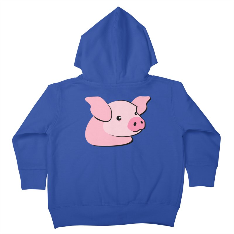 The Pig Kids Toddler Zip-Up Hoody by Ginger's Shop