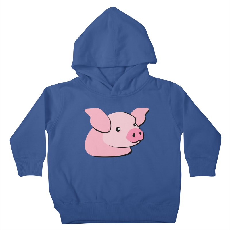 The Pig Kids Toddler Pullover Hoody by Ginger's Shop