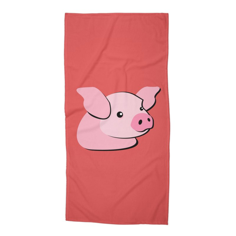 The Pig Accessories Beach Towel by Ginger's Shop