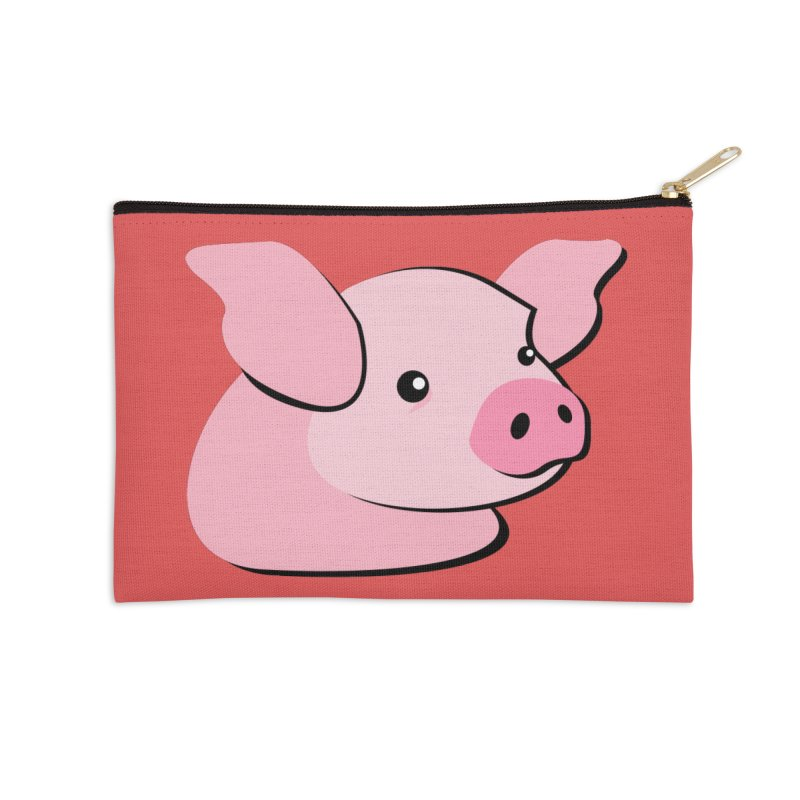 The Pig Accessories Zip Pouch by Ginger's Shop