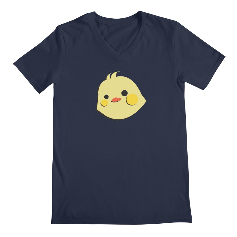 The Chick Men's V-Neck by Ginger's Shop