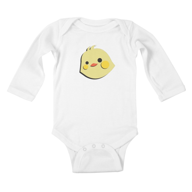 The Chick Kids Baby Longsleeve Bodysuit by Ginger's Shop