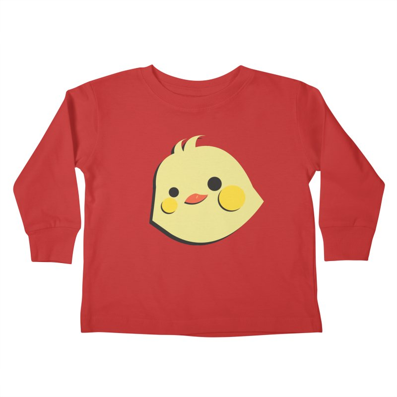 The Chick Kids Toddler Longsleeve T-Shirt by Ginger's Shop
