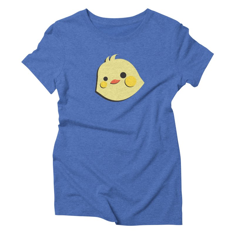 The Chick Women's Triblend T-Shirt by Ginger's Shop