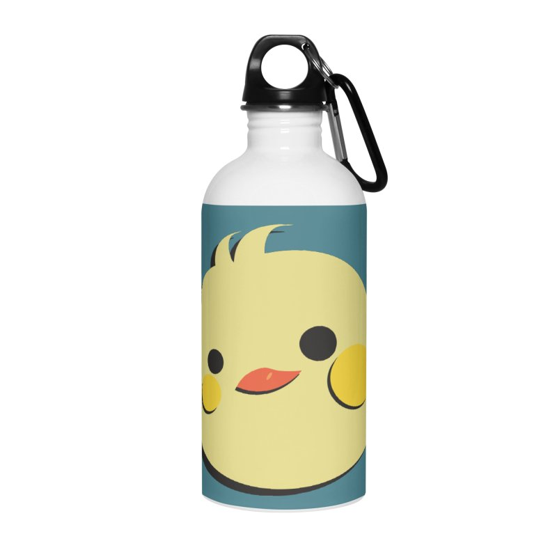 The Chick Accessories Water Bottle by Ginger's Shop