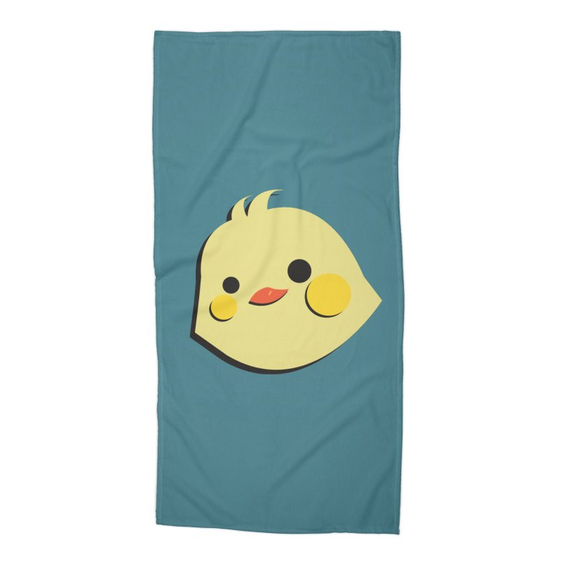 The Chick Accessories Beach Towel by Ginger's Shop