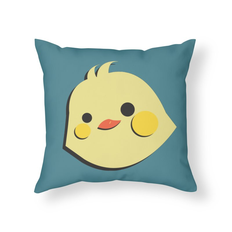 The Chick Home Throw Pillow by Ginger's Shop