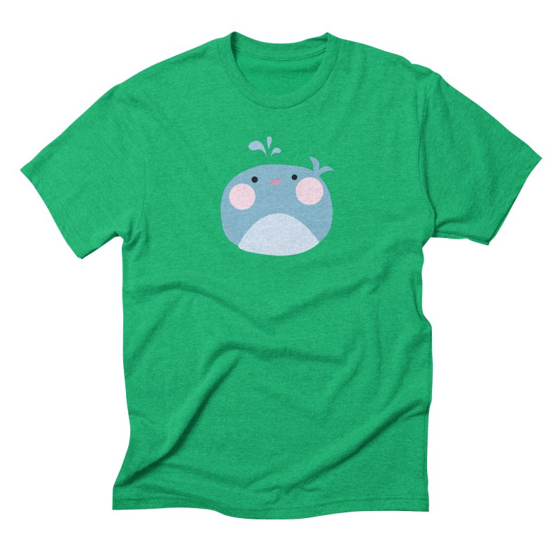 Party Whale Men's Triblend T-Shirt by Ginger's Shop