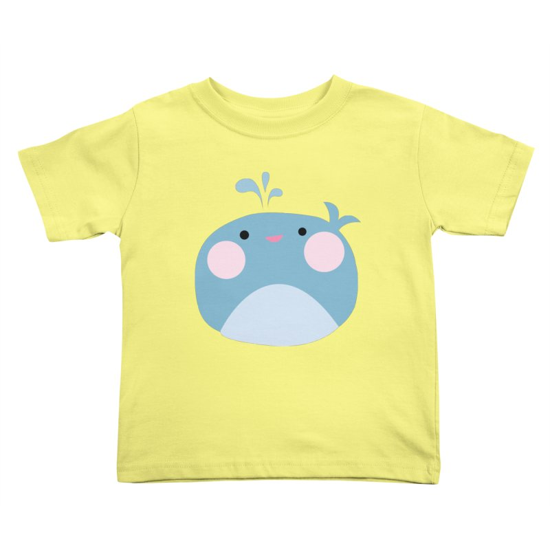 Party Whale Kids Toddler T-Shirt by Ginger's Shop