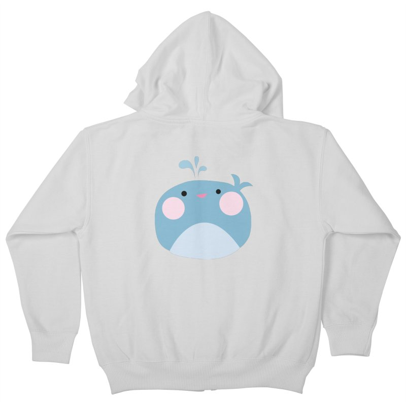 Party Whale Kids Zip-Up Hoody by Ginger's Shop