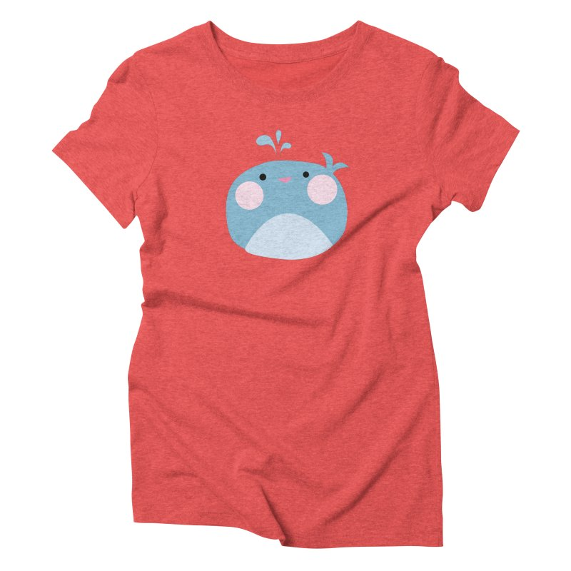 Party Whale Women's Triblend T-Shirt by Ginger's Shop