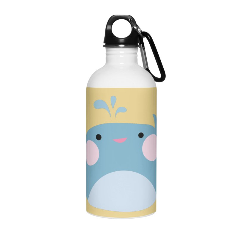 Party Whale Accessories Water Bottle by Ginger's Shop