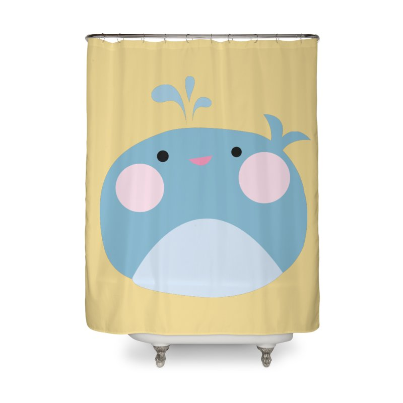 Party Whale in Shower Curtain by Ginger's Shop