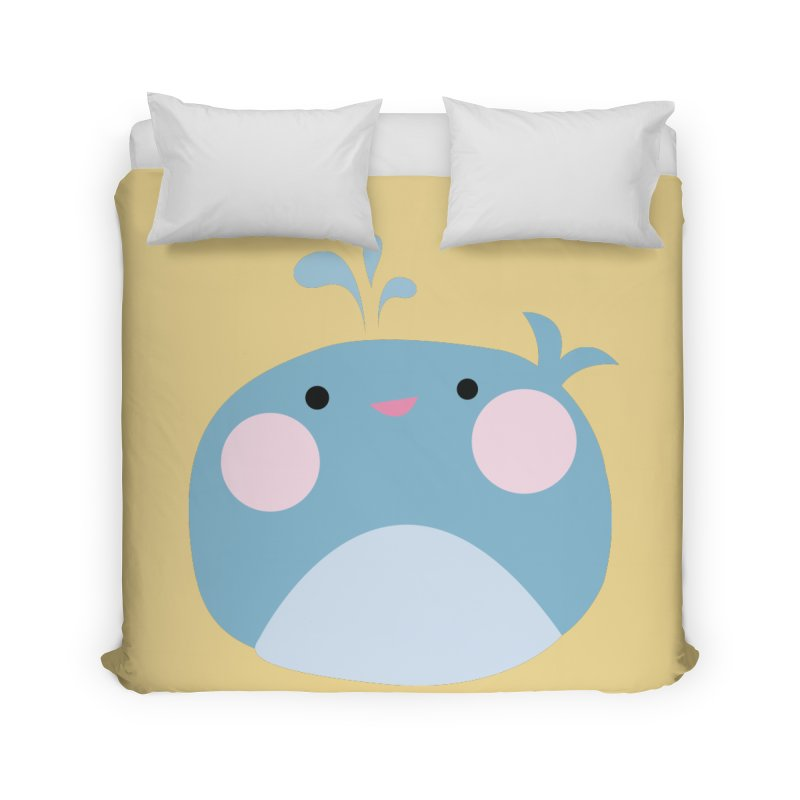 Party Whale Home Duvet by Ginger's Shop