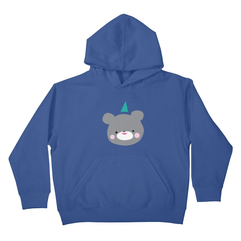Party Bear Kids Pullover Hoody by Ginger's Shop