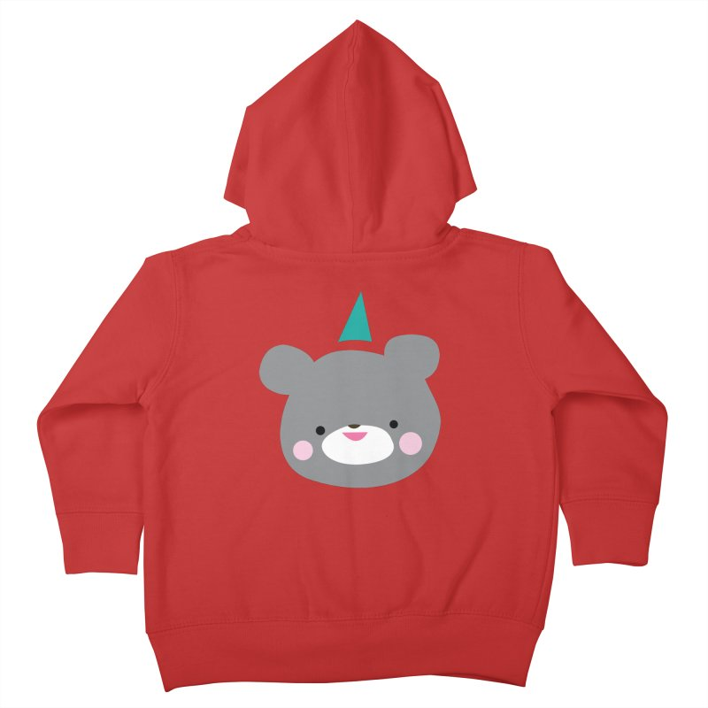 Party Bear Kids Toddler Zip-Up Hoody by Ginger's Shop