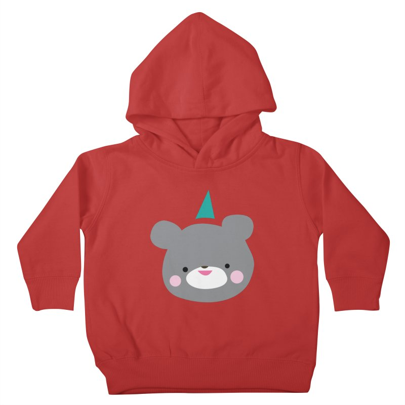 Party Bear Kids Toddler Pullover Hoody by Ginger's Shop