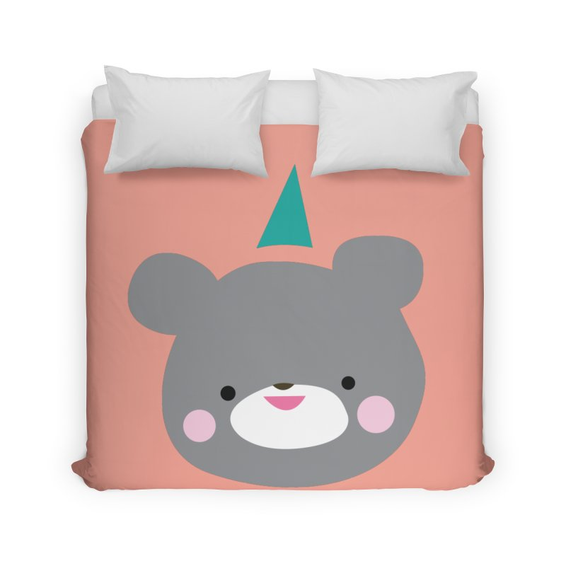 Party Bear Home Duvet by Ginger's Shop