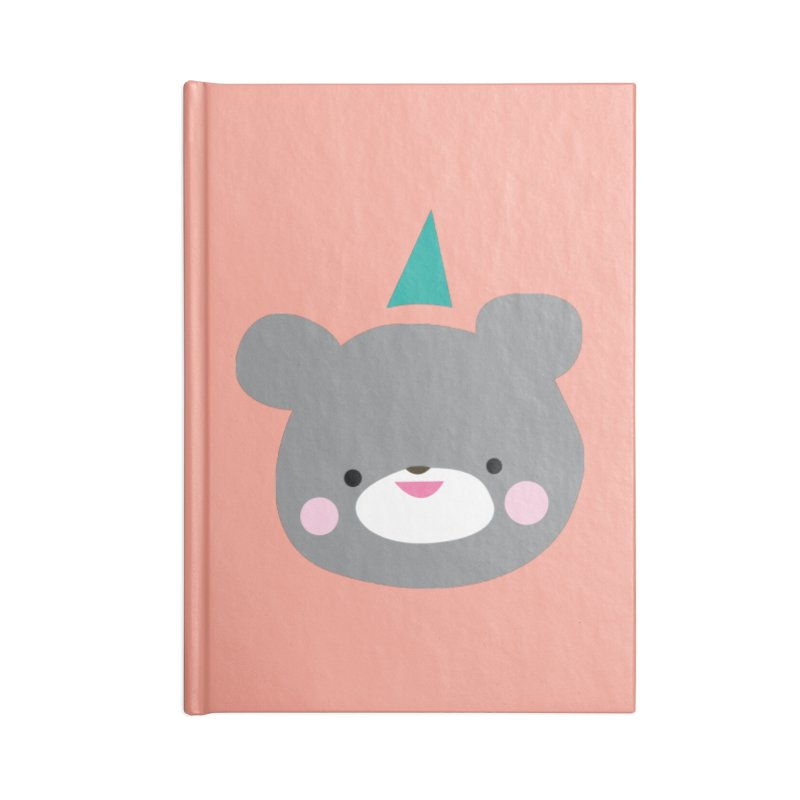 Party Bear Accessories Notebook by Ginger's Shop