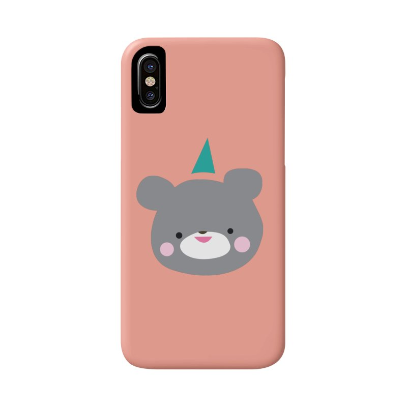 Party Bear Accessories Phone Case by Ginger's Shop