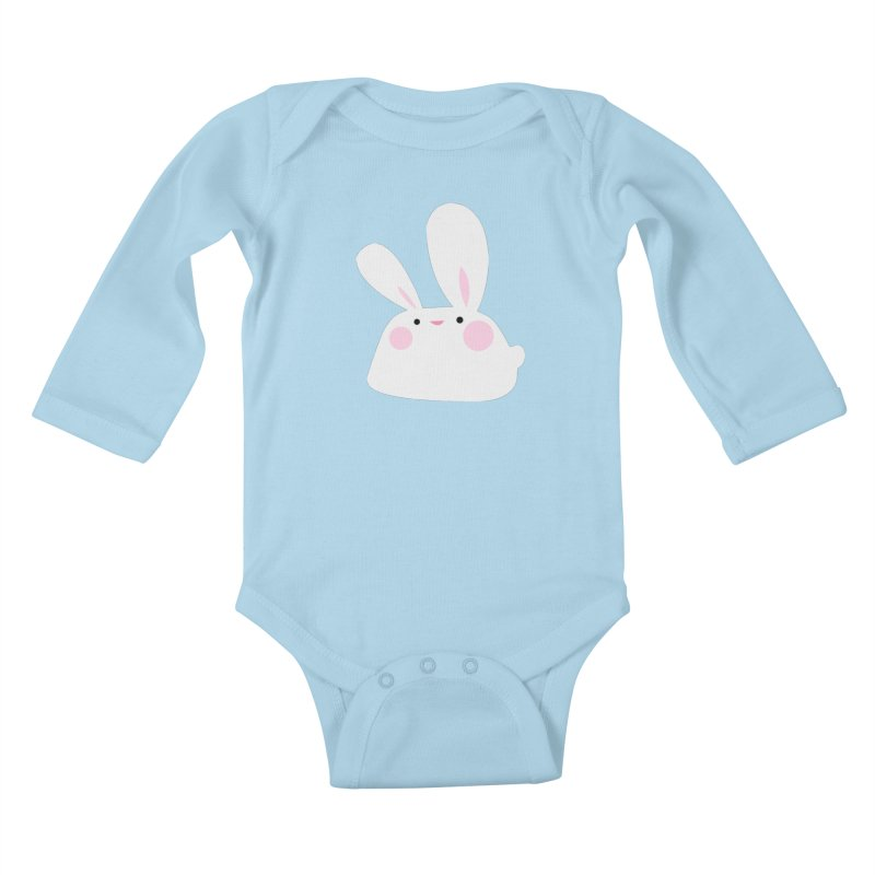 Party Bunny Kids Baby Longsleeve Bodysuit by Ginger's Shop