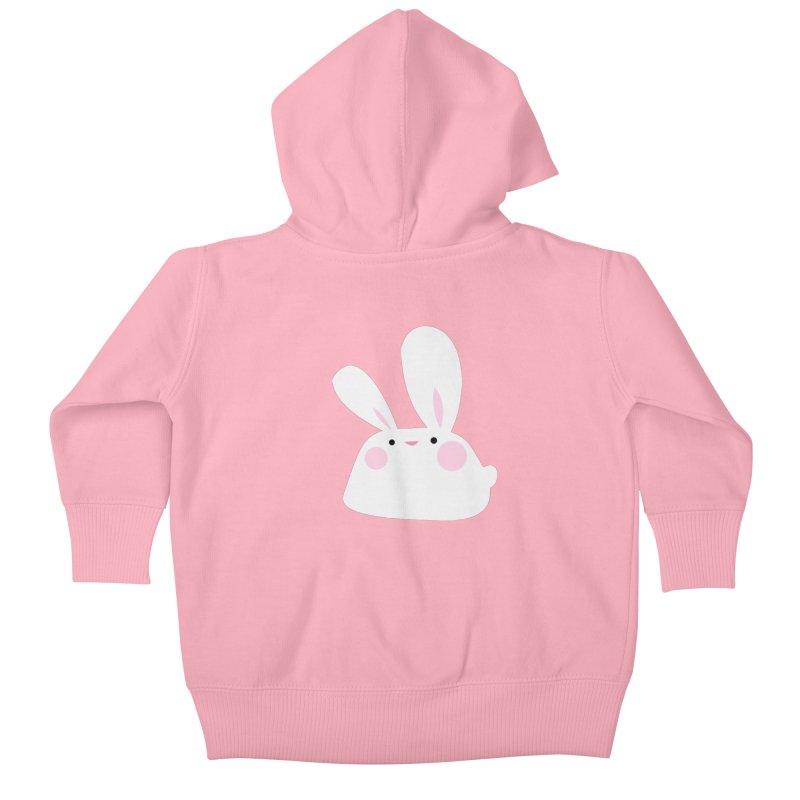 Party Bunny Kids Baby Zip-Up Hoody by Ginger's Shop