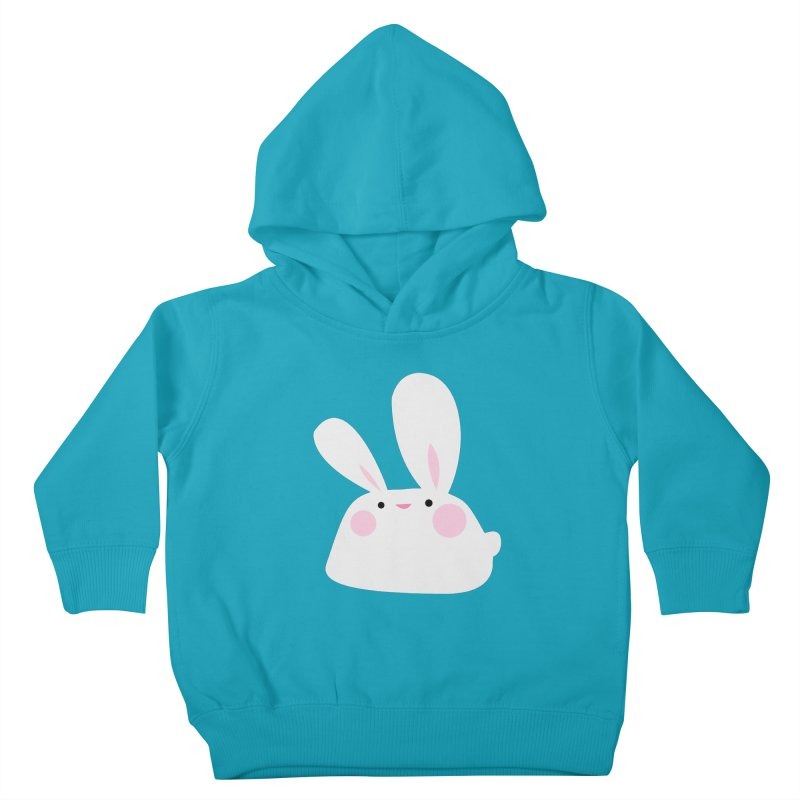 Party Bunny Kids Toddler Pullover Hoody by Ginger's Shop
