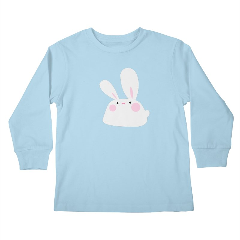 Party Bunny Kids Longsleeve T-Shirt by Ginger's Shop