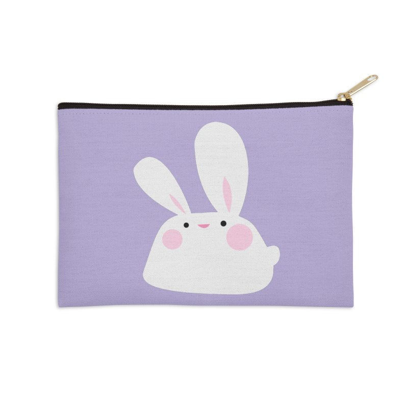Party Bunny Accessories Zip Pouch by Ginger's Shop