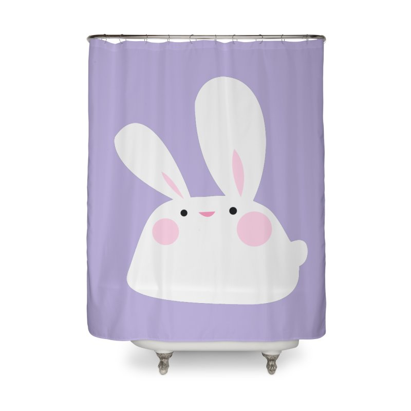 Party Bunny Home Shower Curtain by Ginger's Shop