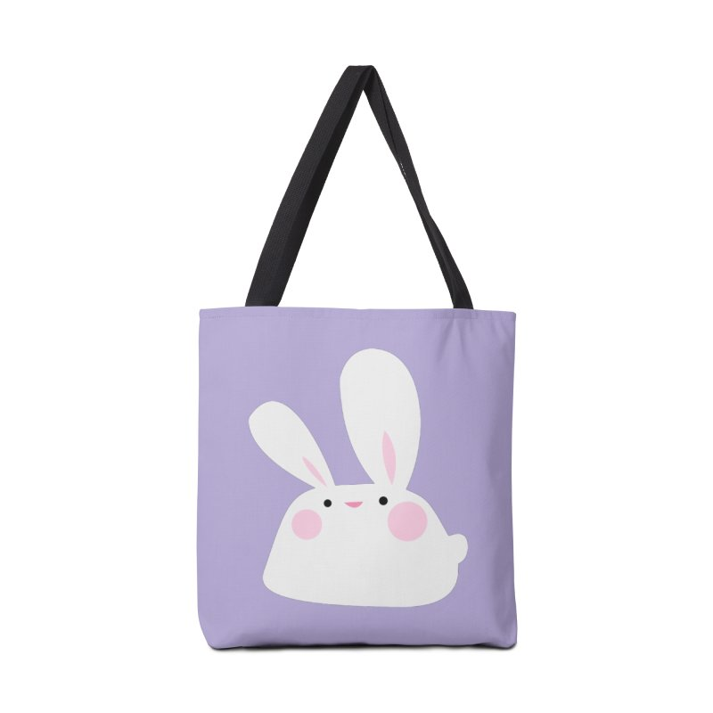Party Bunny in Tote Bag by Ginger's Shop