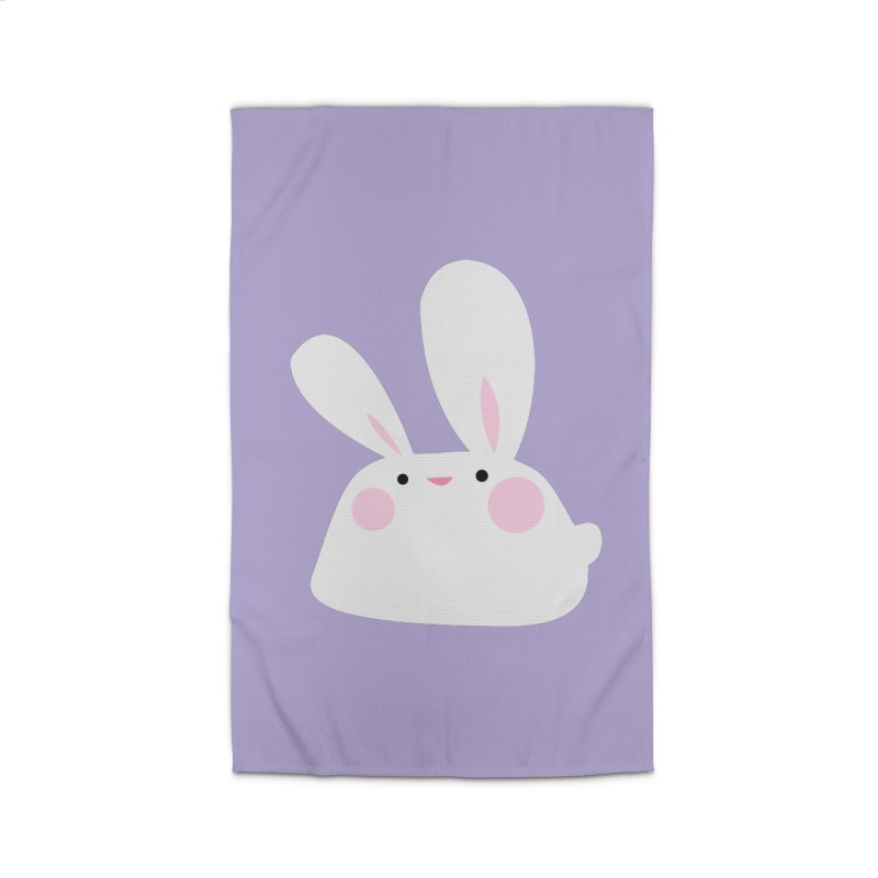 Party Bunny Home Rug by Ginger's Shop