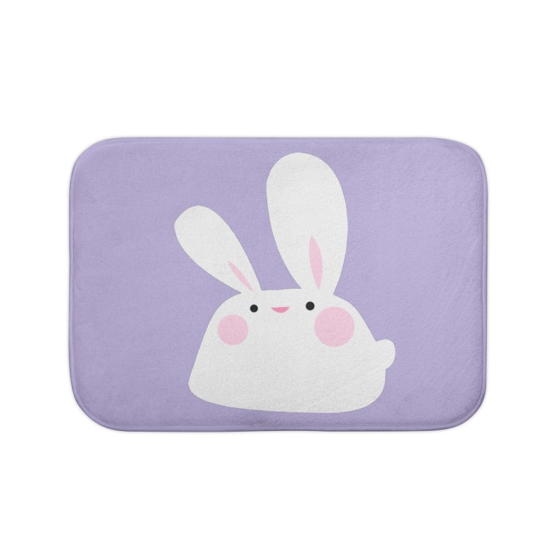 Party Bunny Home Bath Mat by Ginger's Shop