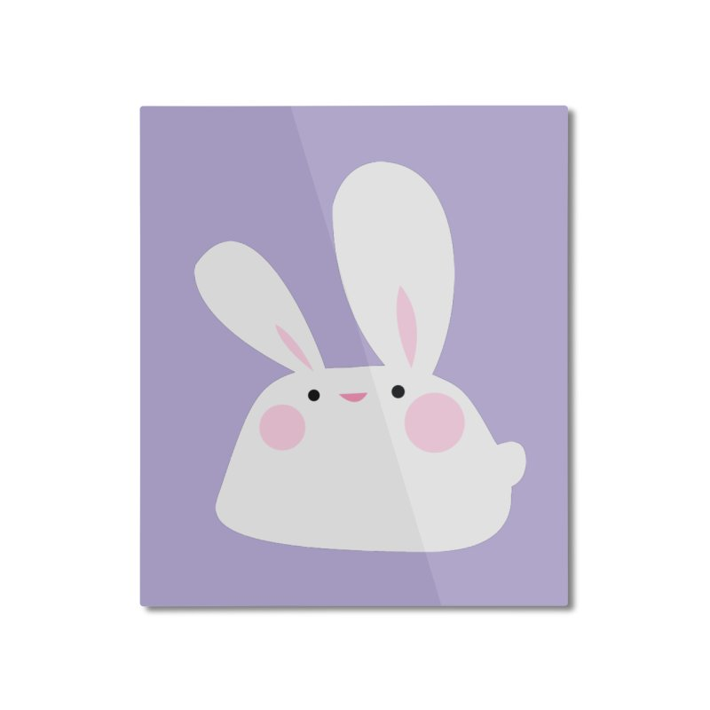 Party Bunny Home Mounted Aluminum Print by Ginger's Shop