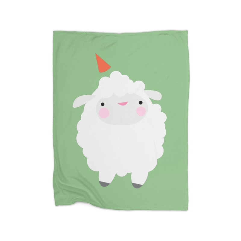Party Lamb Home Blanket by Ginger's Shop
