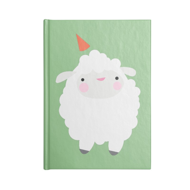 Party Lamb Accessories Notebook by Ginger's Shop