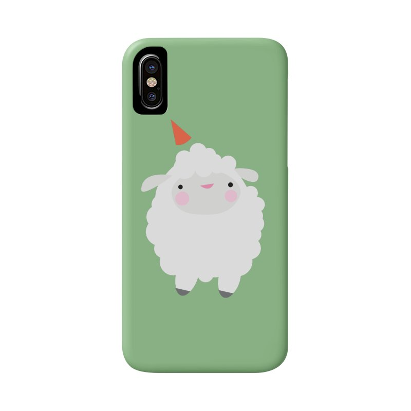 Party Lamb Accessories Phone Case by Ginger's Shop