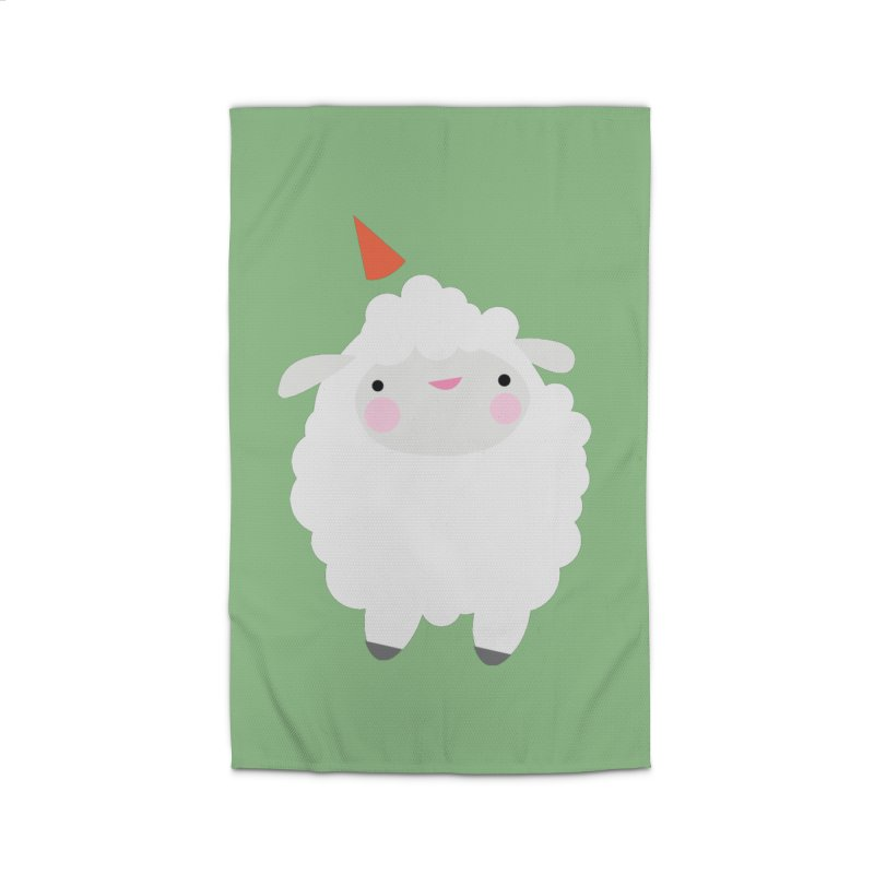 Party Lamb Home Rug by Ginger's Shop