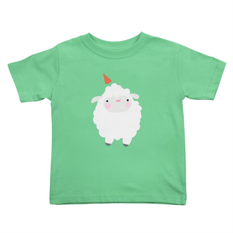 Party Lamb Kids Toddler T-Shirt by Ginger's Shop
