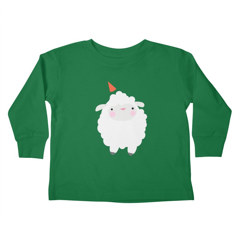 Party Lamb Kids Toddler Longsleeve T-Shirt by Ginger's Shop