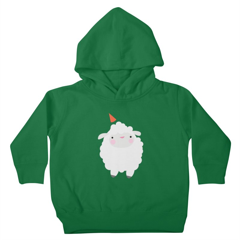 Party Lamb Kids Toddler Pullover Hoody by Ginger's Shop