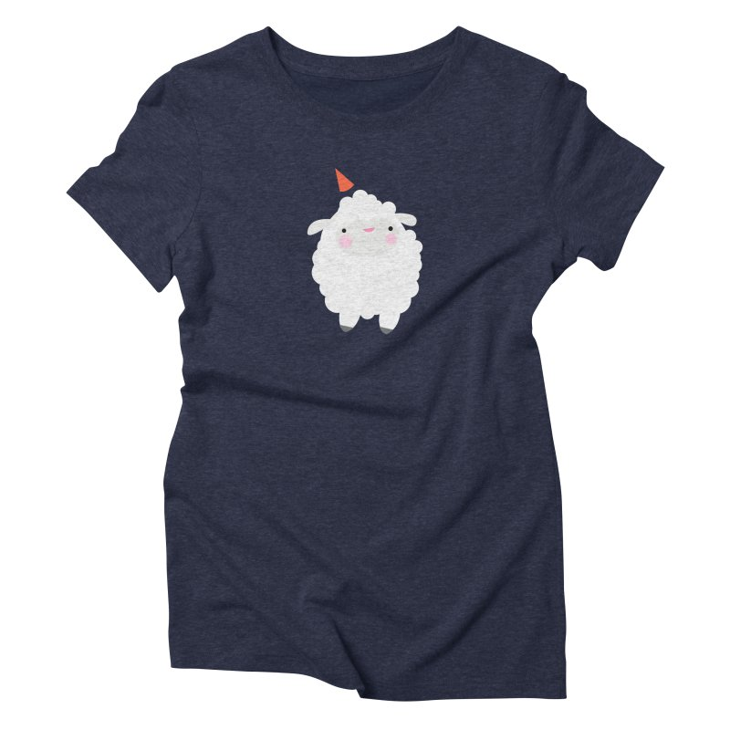 Party Lamb Women's Triblend T-Shirt by Ginger's Shop